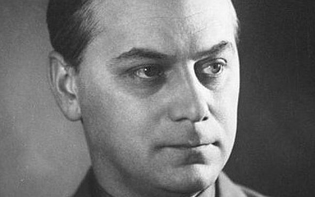 Senior Nazi official Alfred Rosenberg (photo credit: CC BY-SA Bundesarchiv, Wikimedia Commons)