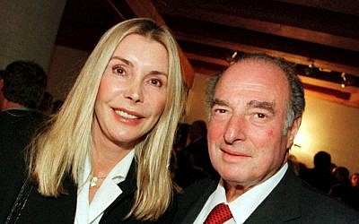 Marc Rich and his wife Gisela in 2000. (photo credit: AP Photo/Urs Flueeler)