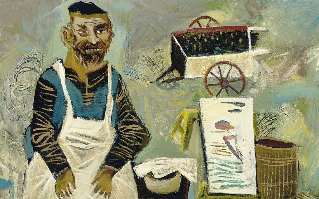 Detail from 'Old Country' by William Gropper (photo credit: courtesy of Christie's)