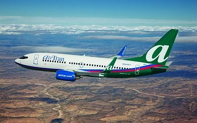 AirTran Airways' 737 aircraft (photo credit: courtesy AirTran)