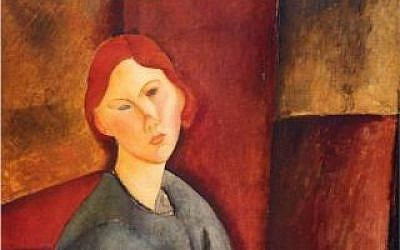 'Portrait de Anne Bjarne' by Amadeo Modigliani (photo credit: Wikipaintings/ public domain)