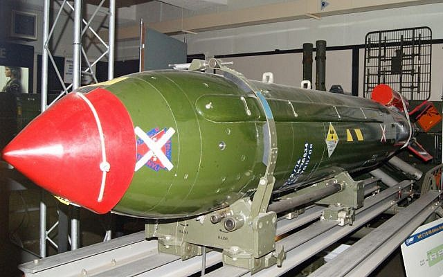 A WE117B nuclear missile, developed by the UK in the 1960s (illustrative photo: CC BY Cloudsurfer_UK/Flickr)