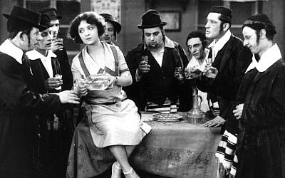 The incomparable comedienne Molly Picon in the 1923 Austrian silent film classic 'East and West,' one of 100 rare and endangered films preserved and restored by NCJF. (photo credit: courtesy of NCJF)