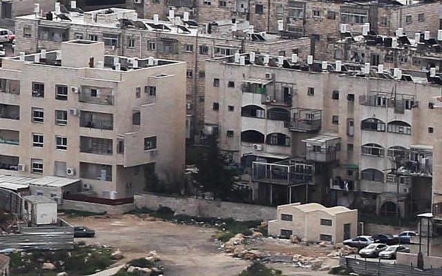 A bird's-eye view of Jerusalem's Beit Yisrael neighborhood (photo credit: Nati Shohat/Flash90)