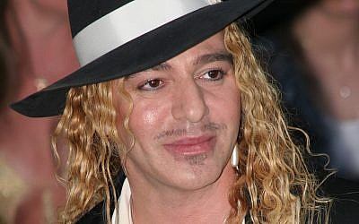 'I just said the most spiteful thing I could.' (John Galliano image via Shutterstock)