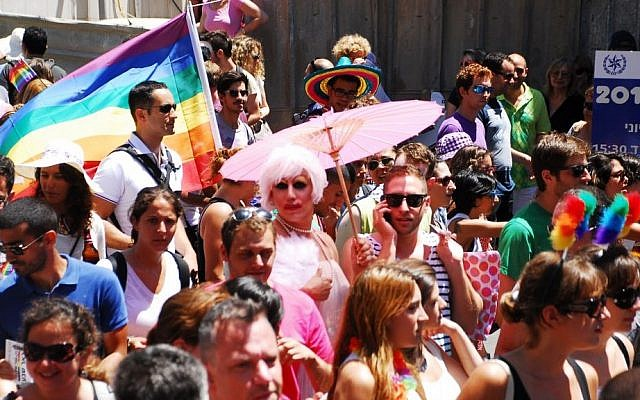 Tel Aviv's gay parade (photo credit: Liat Mandel)