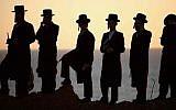Ultra-Orthodox men (illustrative photo: Yehoshua Yosef/Flash90)