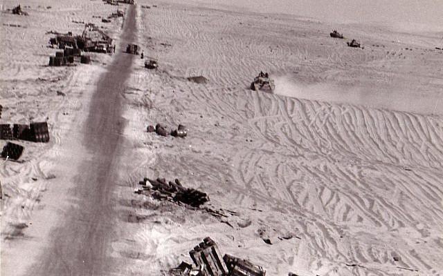 An image taken during the Yom Kippur War (Photo credit: Avi Gur/ Courtesy Yad L'shiryon)