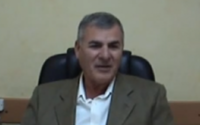 Outgoing Home Front Defense Ministry director Gabi Ophir (photo credit: image capture from YouTube)