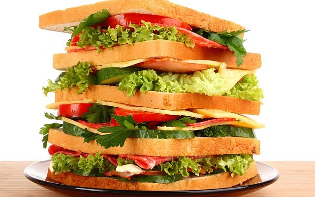 (photo credit: large sandwich image via Shutterstock)