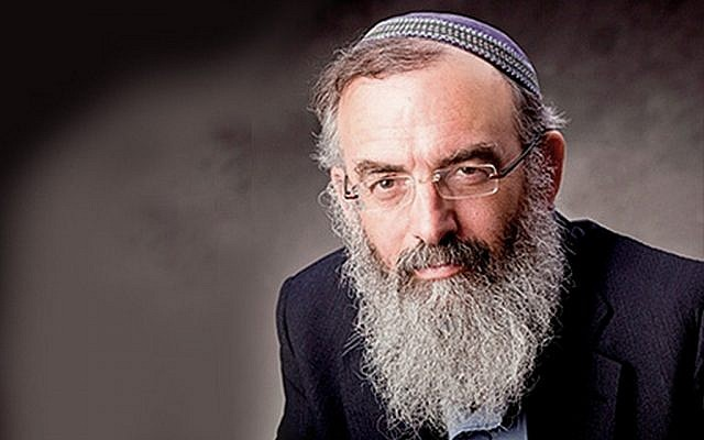 Rabbi David Stav (photo credit: courtesy Tzohar)