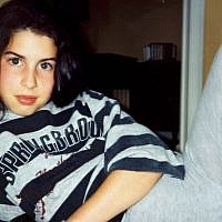 Amy Winehouse as a young girl. (Photo credit: Winehouse family)