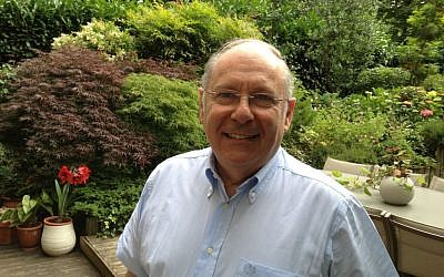 Richard Prasquier at his home in Neuilly, July 5, 2013 (photo credit: Elhanan Miller/Times of Israel)