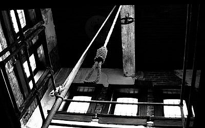 Illustrative photo of a noose (photo credit: CC BY-Patrick Feller/Flickr)