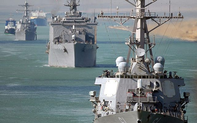 US Navy 5th Fleet (photo credit: Seaman Chad R. Erdmann/US Navy)