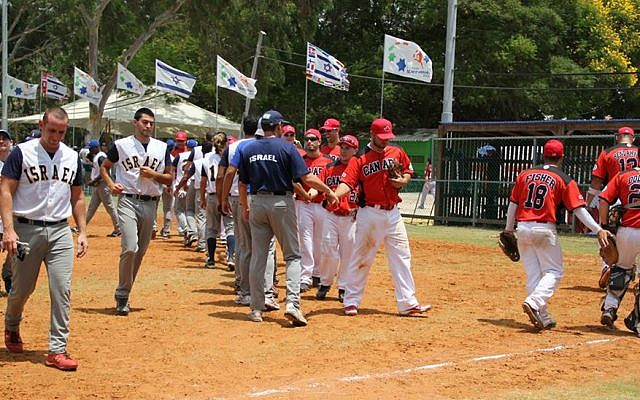 Canada faces Israel at the 19th Maccabiah (photo credit: Maccabiah/ via Facebook)