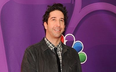 Actor David Schwimmer may be returning to US screens in an Israeli remake. (photo credit: Evan Agostini/Invision/AP)