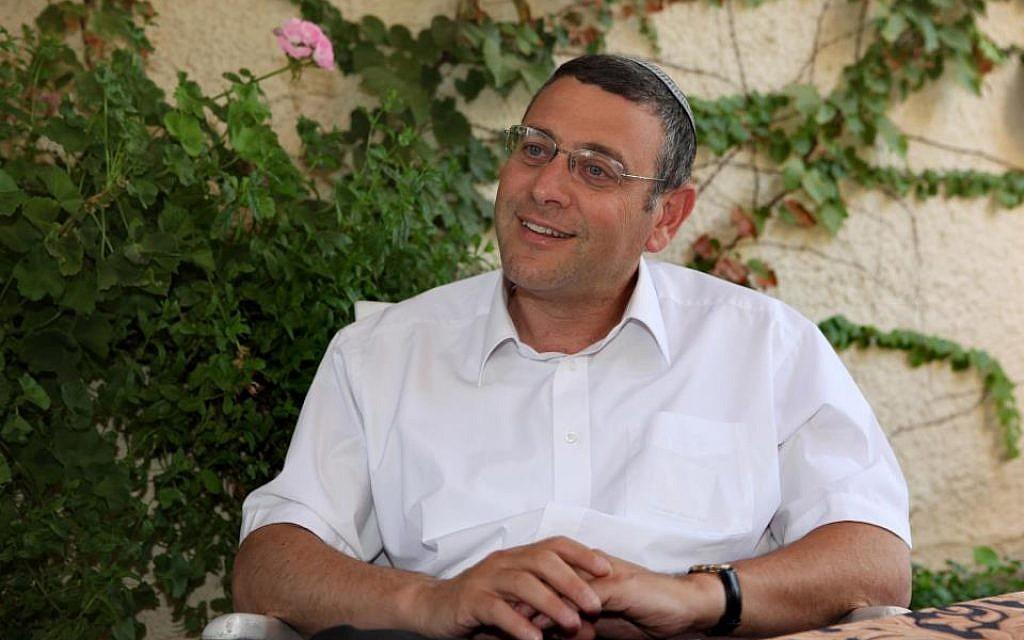 Rabbi Benjamin Lau. (Courtesy Israel Democracy Institute)