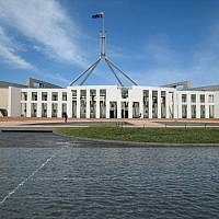 Canberra Parliament House, Australia (Wikimedia Commons/Mark Pegrum CC BY-SA)