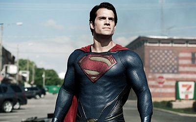 Henry Cavill portrays Superman in 'Man of Steel.' (AP/Warner Bros. Pictures, Clay Enos)