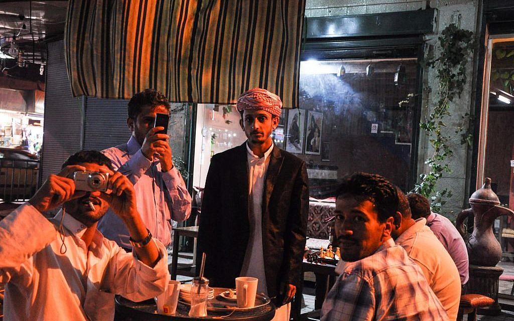 Gulf state Muslims in Amman for Ramadan (photo credit: Michal Shmulovich/Times of Israel)