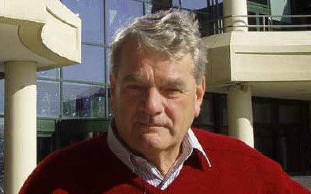Holocaust denier David Irving (photo credit: public domain via wikipedia)