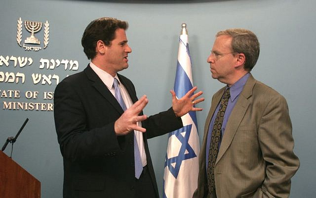 Ron Dermer, Israel's next ambassador to the US, speaking at a 2009 convention for Jewish bloggers in Jerusalem. (photo credit: Miriam Alster/Flash90)