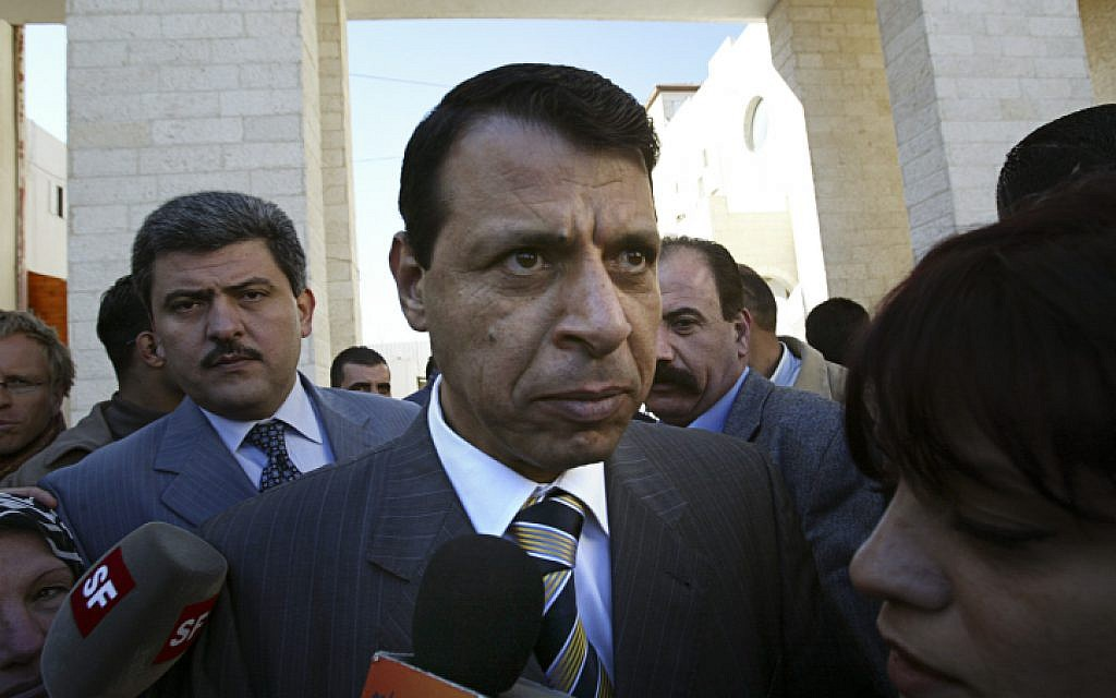 Mohammad Dahlan in 2006 (Michal Fattal/Flash90)