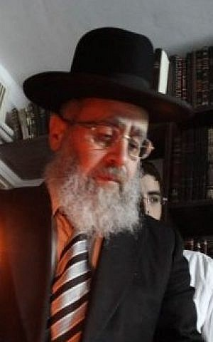 Rabbi Yitzhak Yosef, the son of Rabbi Ovadia Yosef, in Jerusalem, April 7, 2009. (photo credit: Yossi Zamir/Flash90)