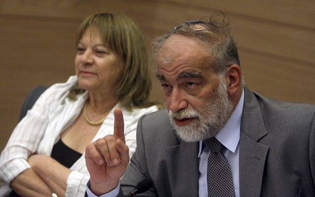 Knesset Constitution, Law and Justice Committee Chairman MK David Rotem (Yisrael Beytenu), in July 2010. (photo credit: Flash90)