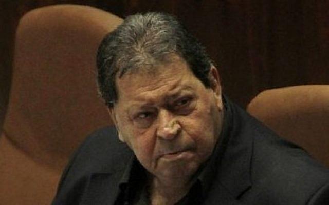 MK Binyamin Ben Eliezer (photo credit: Miriam Alster/Flash90)