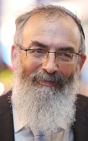 Rabbi David Stav, June 20, 2013. (photo credit: Flash 90)