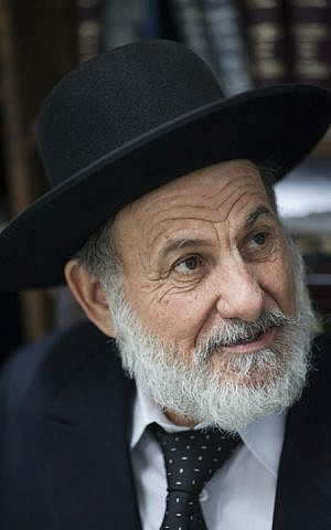 Rabbi Zion Boaron June 30, 2013. (photo credit: Yonatan Sindel/Flash90)