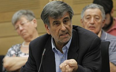 MK Shimon Ohayon in the Knesset on July 15, 2013. (photo credit: Flash90)