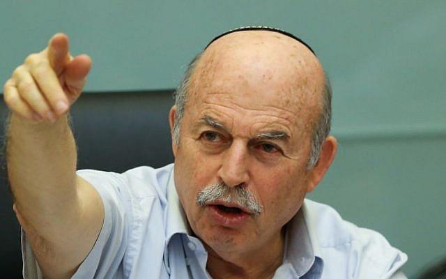 File: Jewish Home MK Nissan Slomiansky. (photo credit: Yonatan Sindel/Flash90)