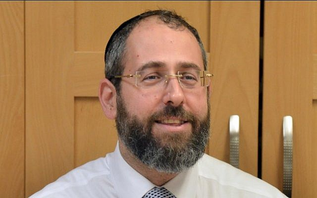 Chief Ashkenazi Rabbi David Lau (photo credit: FLASH90)