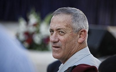 IDF Chief of Staff Benny Gantz, July 24, 2013. (photo credit: FLASH90)