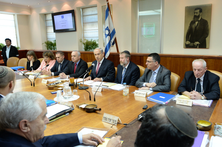 Cabinet Approves Referendum Bill On Relinquishing Territory The