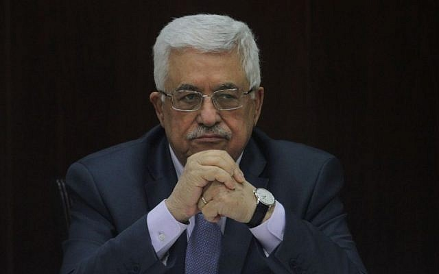 Palestinian President Mahmoud Abbas (photo credit: Issam Rimawi/Flash90/File)