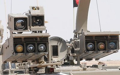 A close-up of the Tammuz missile system, which is equipped with day and night cameras. (photo credit: IDF Spokesperson's Unit)