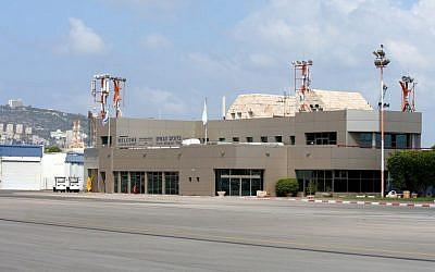 Haifa Airport terminal (CC BY SA-3.0, by Oyoyoy, Wikimedia Commons)