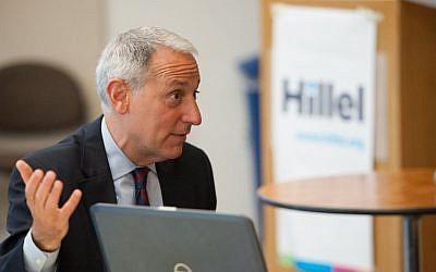 Hillel president Eric Fingerhut (Courtesy)