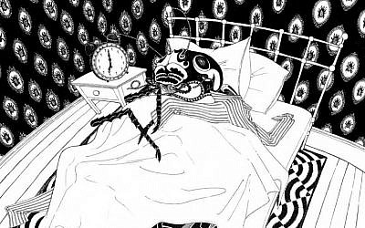 Illustration from 'My First Kafka' (photo credit: courtesy)