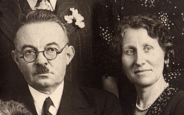 Alfred and Augustine Le Guellec (photo credit: courtesy/Yad Vashem)