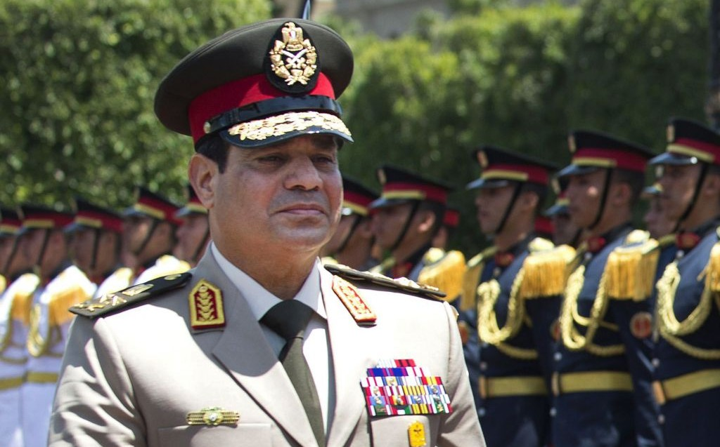 Egyptian Defense Minister Gen. Abdel-Fattah el-Sissi (photo credit: AP/Jim Watson, Pool)