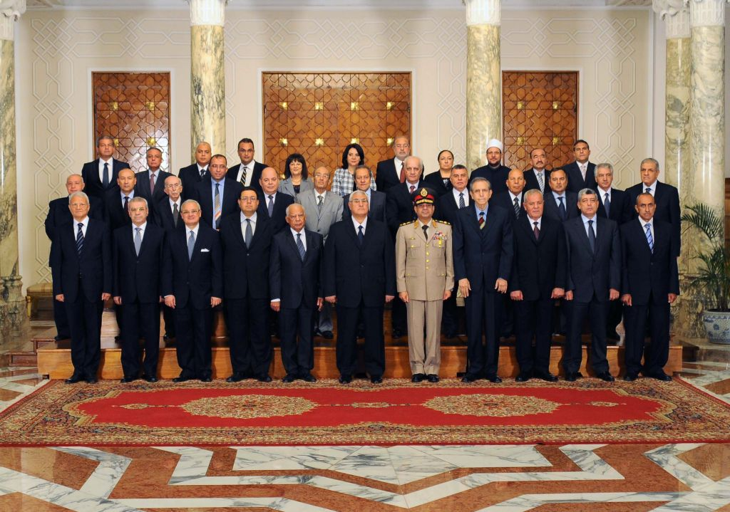 Egypt's interim president swears in new cabinet | The Times of Israel