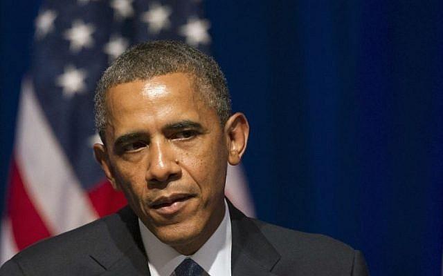 President Barack Obama (photo credit:AP/Cliff Owen)