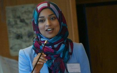 Sadia Saifuddin, candidate for student regent in the University of California system. (Photo credit: Facebook/Sadia Saifuddin)