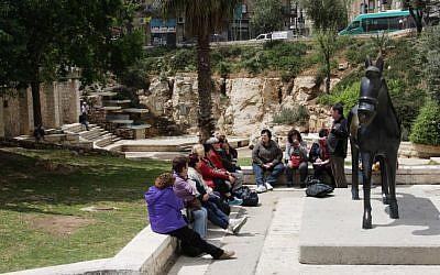 Shiber Pit (photo credit: Shmuel Bar-Am)