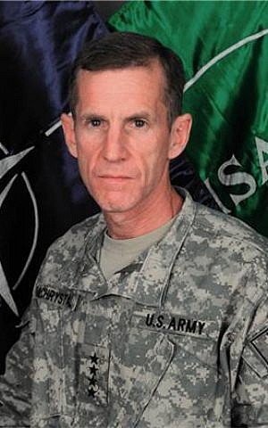 General Stanley McChrystal (photo credit: US Army)